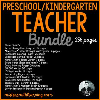 Preschool/Kindergarten Teacher Bundle