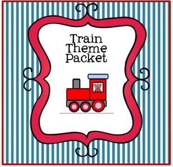 Trains- Math, Literacy and Dramatic Play