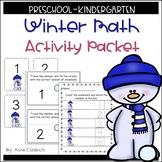 Preschool Kindergarten Winter Math Activities