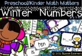 Preschool Kindergarten Winter Math numbers to ten (Sunnah