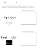 Preschool Kindergarten numbers practice to 7 using Genesis