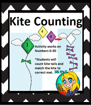Preschool Kite Counting