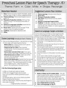 language lesson plans for preschool preschool language lesson plan for speech therapy on the 741