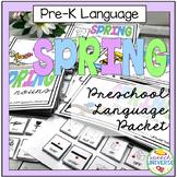 Preschool Language Packet: Spring