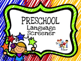 Preschool Language Screener