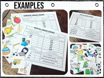 Preschool Language Screeners