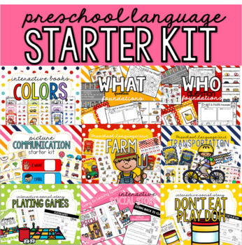 Preschool Language Starter Kit