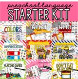 Preschool Language Starter Kit Bundle