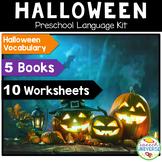 Preschool Language Theme Kit: Halloween