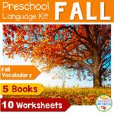 Preschool Language Theme Packet for Fall