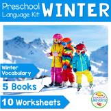Preschool Language Theme Packet for Winter