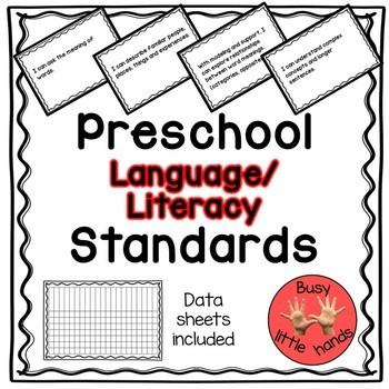 Preschool Language and Literacy Standards