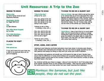Preschool Launch: Monkeys!