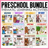 Preschool Learning Activities GROWING BUNDLE