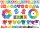 Preschool Learning Aid, Preschool Cheat Sheet, Pre Reference Card
