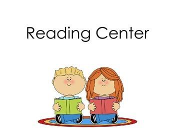 Preschool Learning Center Signs