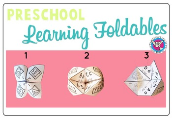 Preschool Learning Foldables: Vocabulary and Concepts