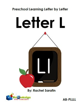 Preschool Learning Letter By Letter:  Letter L