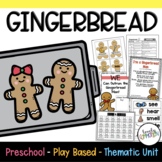 Play Based Preschool Lesson Plans Gingerbread Thematic Unit