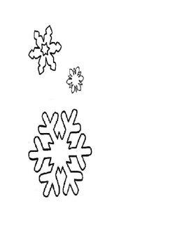 Preschool Lesson Plan - Snowflakes - Big and Small