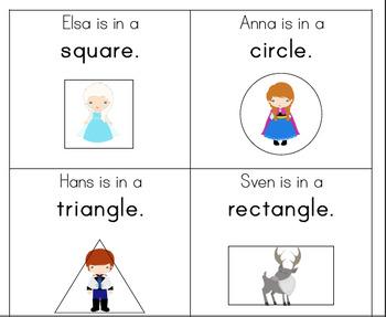 Preschool Lesson Plan and Detailed Activities- Frozen Week