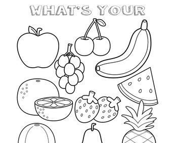 Preschool Lesson Plan and Detailed Activities- Fruits and Vegetables Theme