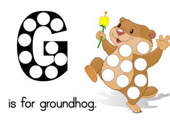 Preschool Lesson Plan and Detailed Activities- Groundhog Week