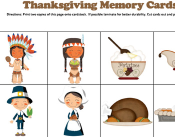 Preschool Lesson Plan and Detailed Activities- Thanksgiving Week