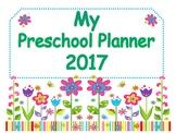 Preschool Lesson Planning Organizer