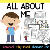 Play Based Preschool Lesson Plans ALL ABOUT ME