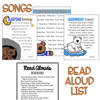 Preschool Lesson Plans- Bears