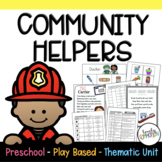 Play Based Preschool Lesson Plans Community Helpers Thematic Unit