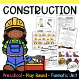 Preschool Lesson Plans- Construction