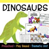 Play Based Preschool Lesson Plans Dinosaur Thematic Unit