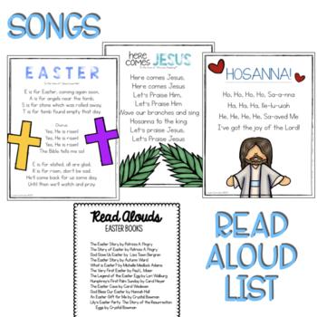 Preschool Lesson Plans- Easter