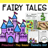 Play Based Preschool Lesson Plans Fairy Tales Thematic Unit