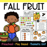 Preschool Lesson Plans - Fall Fruit