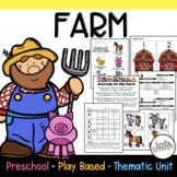 Play Based Preschool Lesson Plans Farm Themed Unit