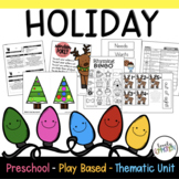 Preschool Lesson Plans- Holiday
