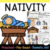 Play Based Preschool Lesson Plans Nativity Bible Unit
