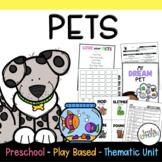 Play Based Preschool Lesson Plans Pets Thematic Unit