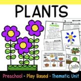 Play Based Preschool Lesson Plans Plants Thematic Unit