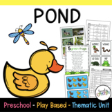 Preschool Lesson Plans- Pond