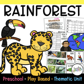 Preschool Lesson Plans- Rainforest