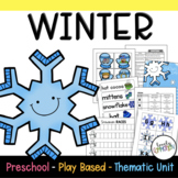Play Based Preschool Lesson Plans Winter Thematic Unit