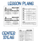 Preschool Lesson Plans- Space
