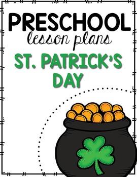 Preschool Lesson Plans- St. Patrick's Day