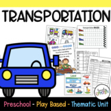 Preschool Lesson Plans- Transportation