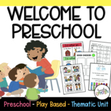 Play Based Preschool Lesson Plans BACK TO SCHOOL