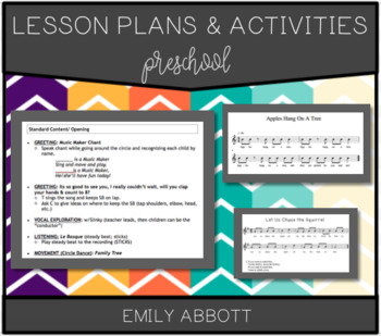 Preschool Lesson Plans and Activities